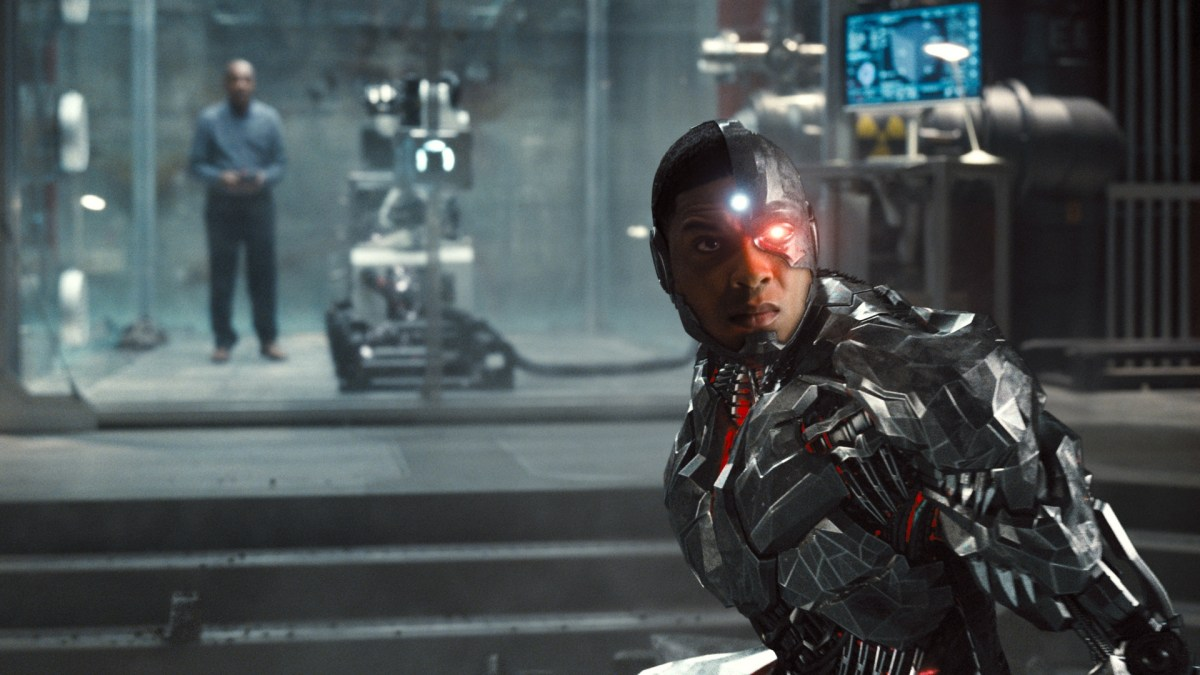 Snyder Cut Justice League review: Cyborg near the end of the movie