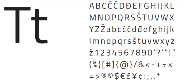 Free fonts: Building