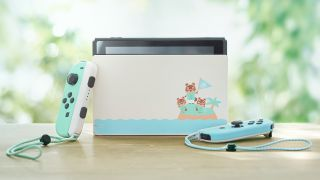 Animal Crossing-themed Nintendo Switch console