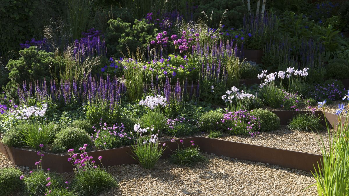 Make the most of a sloping garden | Real Homes on Garden Ideas For Sloping Gardens id=69923
