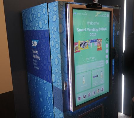 Smart Vending Machine Scans Your Face To Serve Up Snacks