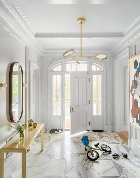 entrance hallway tile ideas