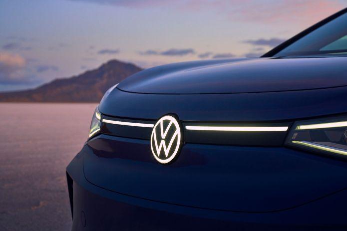Volkswagen ID.4 exterior and interior shots
