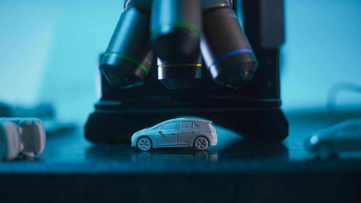 3D-printed vehicles are a step nearer to actuality because of HP/Volkswagen partnership 1