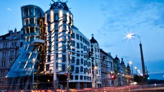 Famous buildings: The Dancing House in Prague