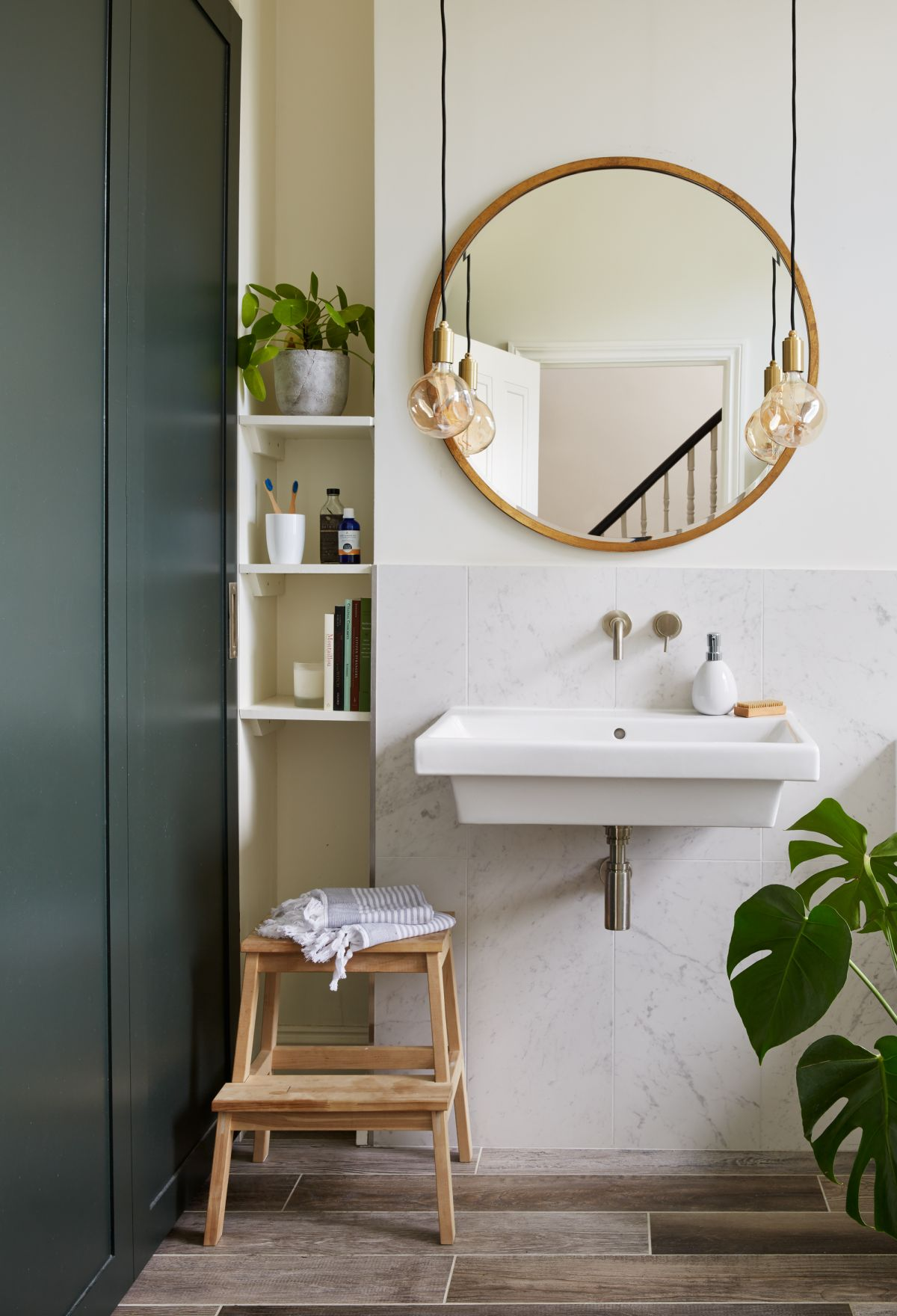 Small bathroom ideas: 18 clever ways to make the most of ... on Bathroom Designs For Small Spaces  id=69944