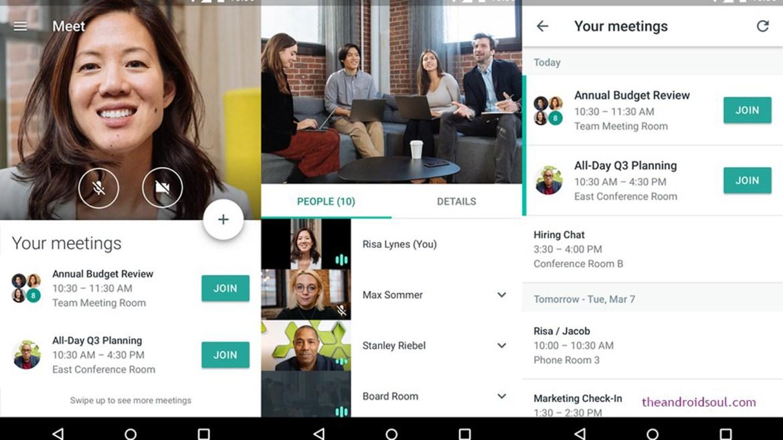 Best Zoom alternatives: Google Hangouts Meet