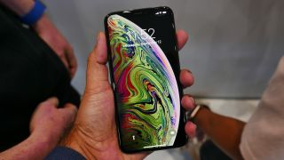 The iPhone XS Max is all screen on the front