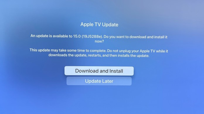 How to download the tvOS 15 public beta