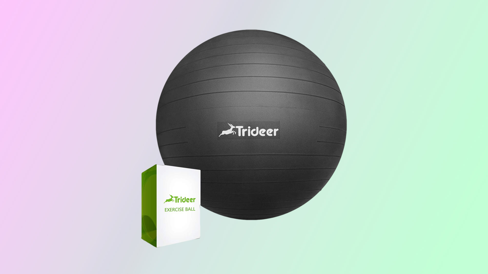 Best home gym equipment: Trideer Exercise Ball