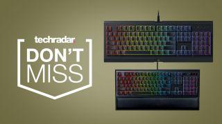 Razer gaming keyboard deals at Amazon