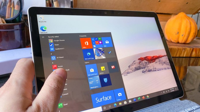 Surface Go 2 vs. iPad - Windows 10