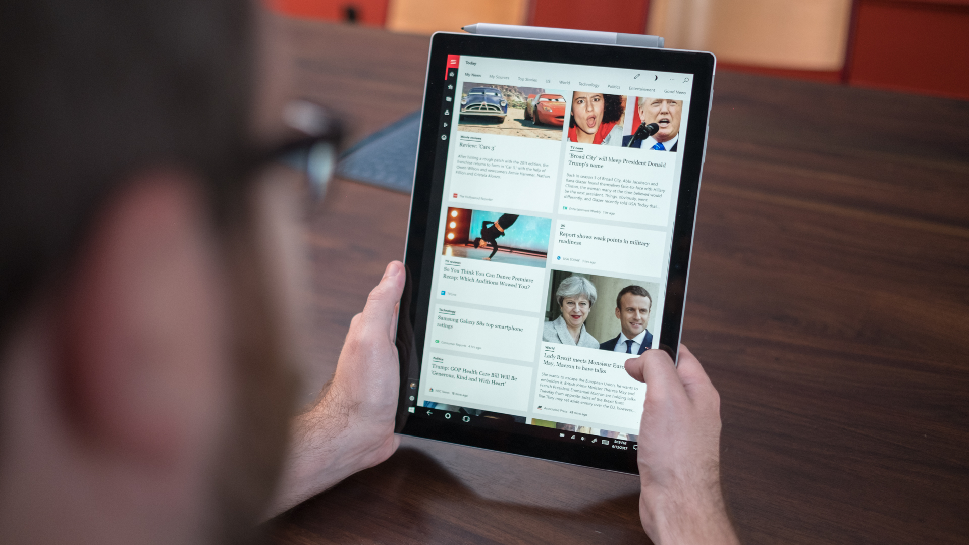 Surface Pro 6 tablet