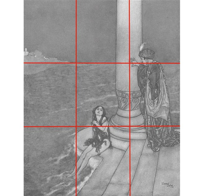Powerful artistic compositions: The Rule of Thirds