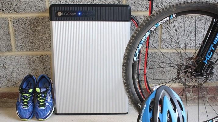 Photo of Ikea's solar storage battery