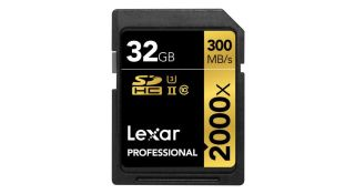 Best memory cards: Lexar Professional Class 10 UHS-II 2000X Speed