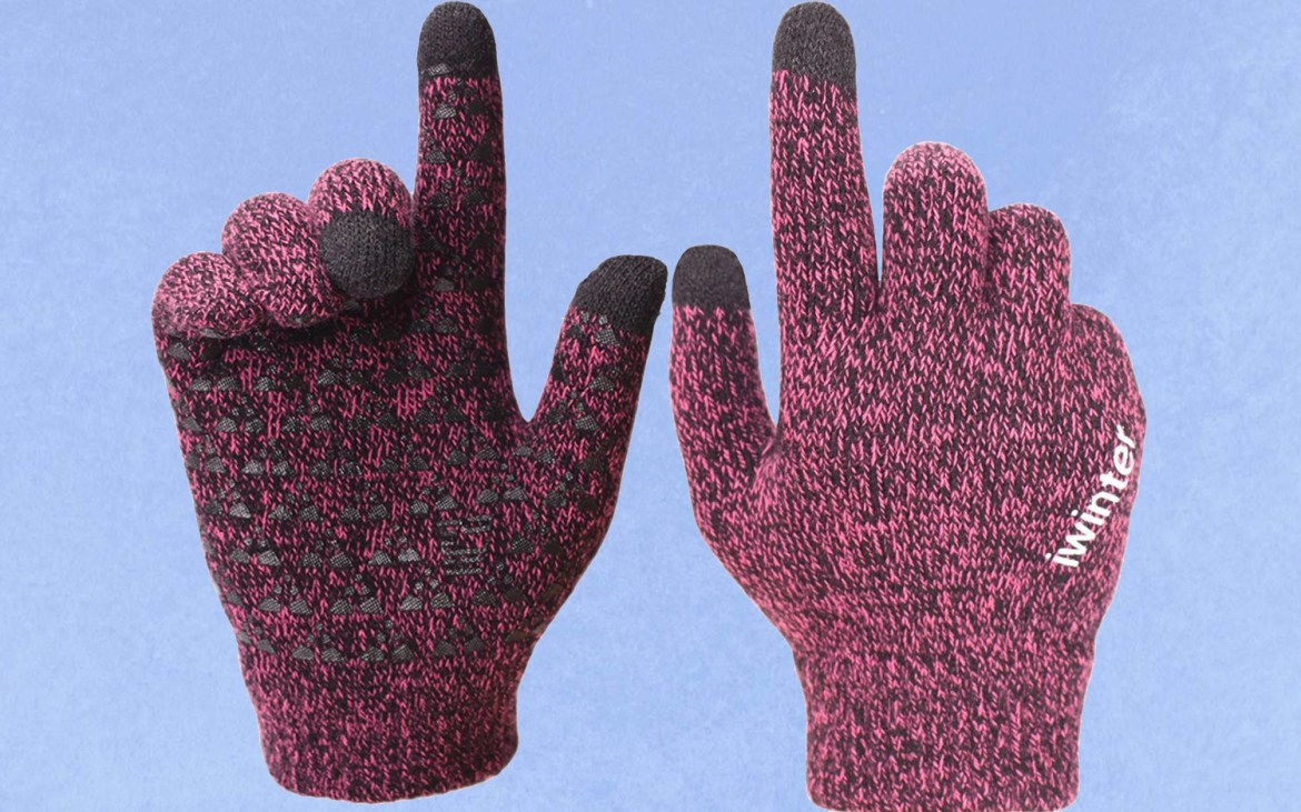 Achiou Winter Warm Touchscreen Gloves for Women and Men