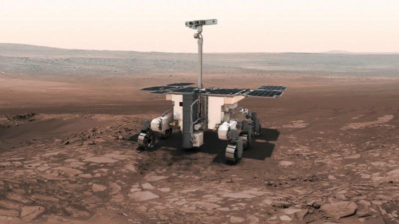 Image of ESA's ExoMars Rover