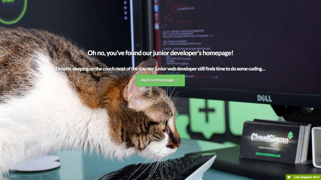 cloud sigma 404 page