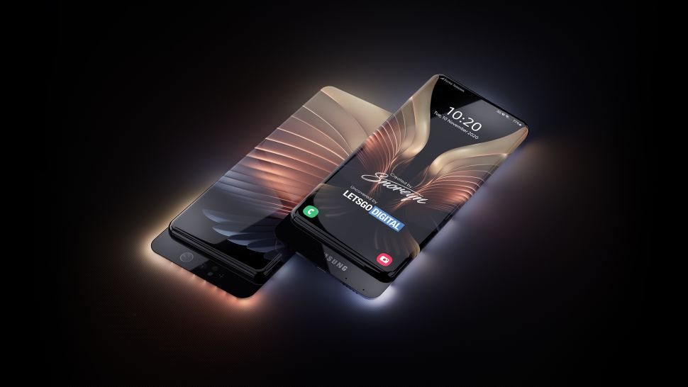 Samsung surround display concept