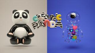 Mr Kat & Friends - a panda