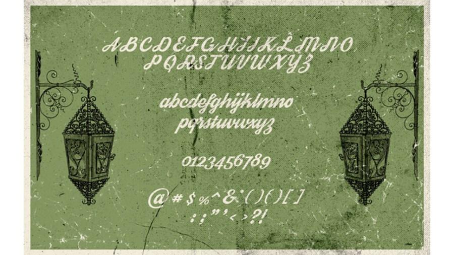 Free fonts Pier