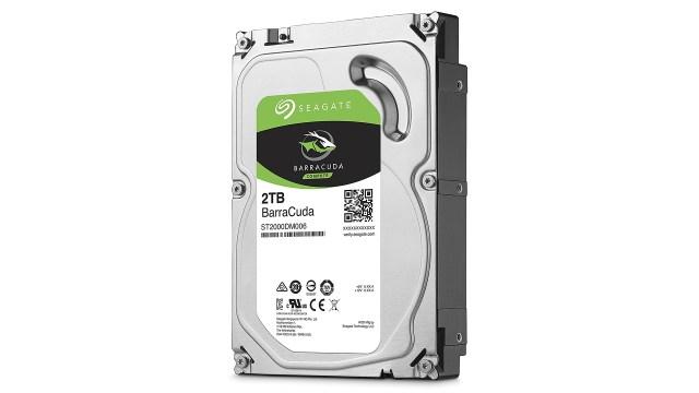 Best hard drive: Seagate BarraCuda