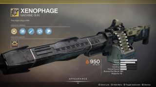 Destiny 2 Xenophage How To Get Xenophage In Destiny 2