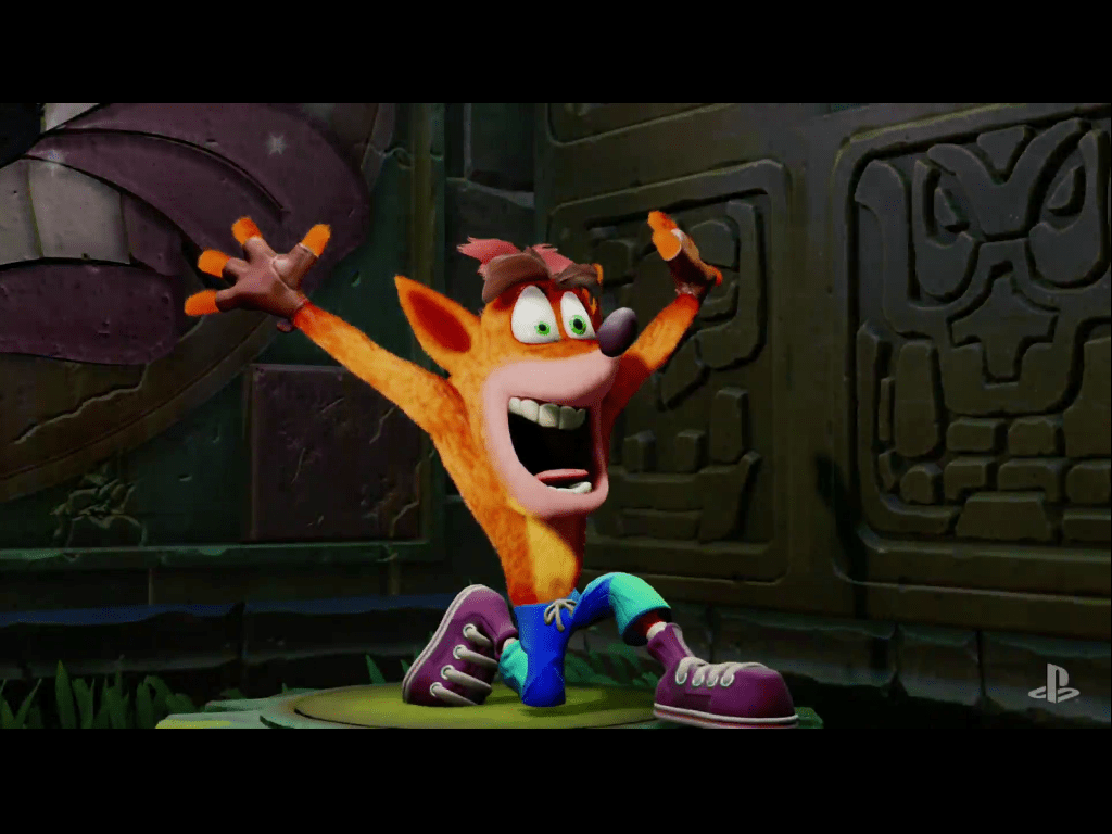 CRASH BANDICOOT Remastered Gameplay Intgral 2017 PS4