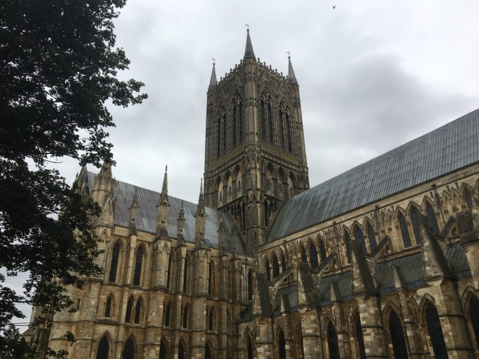 Lincoln Cathedral on an iPhone 6S