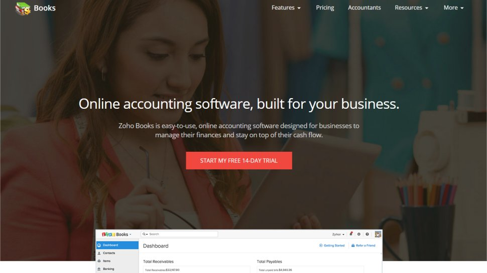 Zoho Books - A simple solution for the self-employed and small businesses