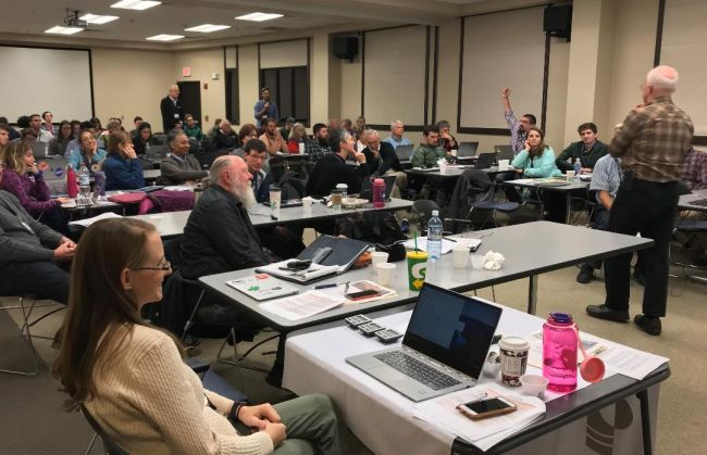 An international group of experts recently met in Carlsbad, New Mexico, to discuss what's next in the effort to determine if life has been, or is now, resident on the Red Planet.