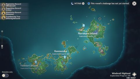 You'll get there during the yougou cleansing world quest. How To Get To Inazuma In Genshin Impact Pc Gamer