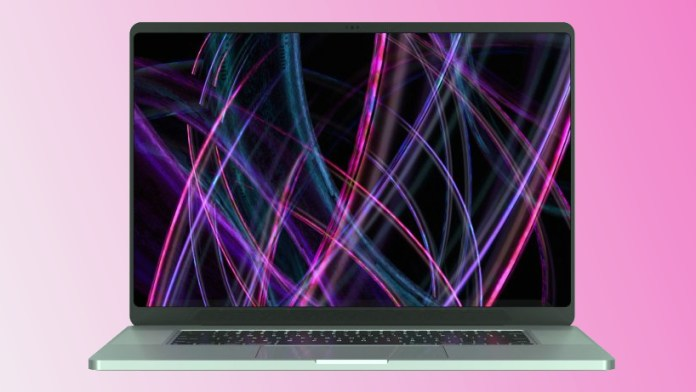 Render 16-inch MacBook Pro 2021