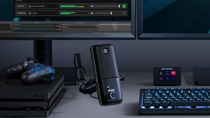 The best gaming microphone for streamers: Elgato Wave: 3