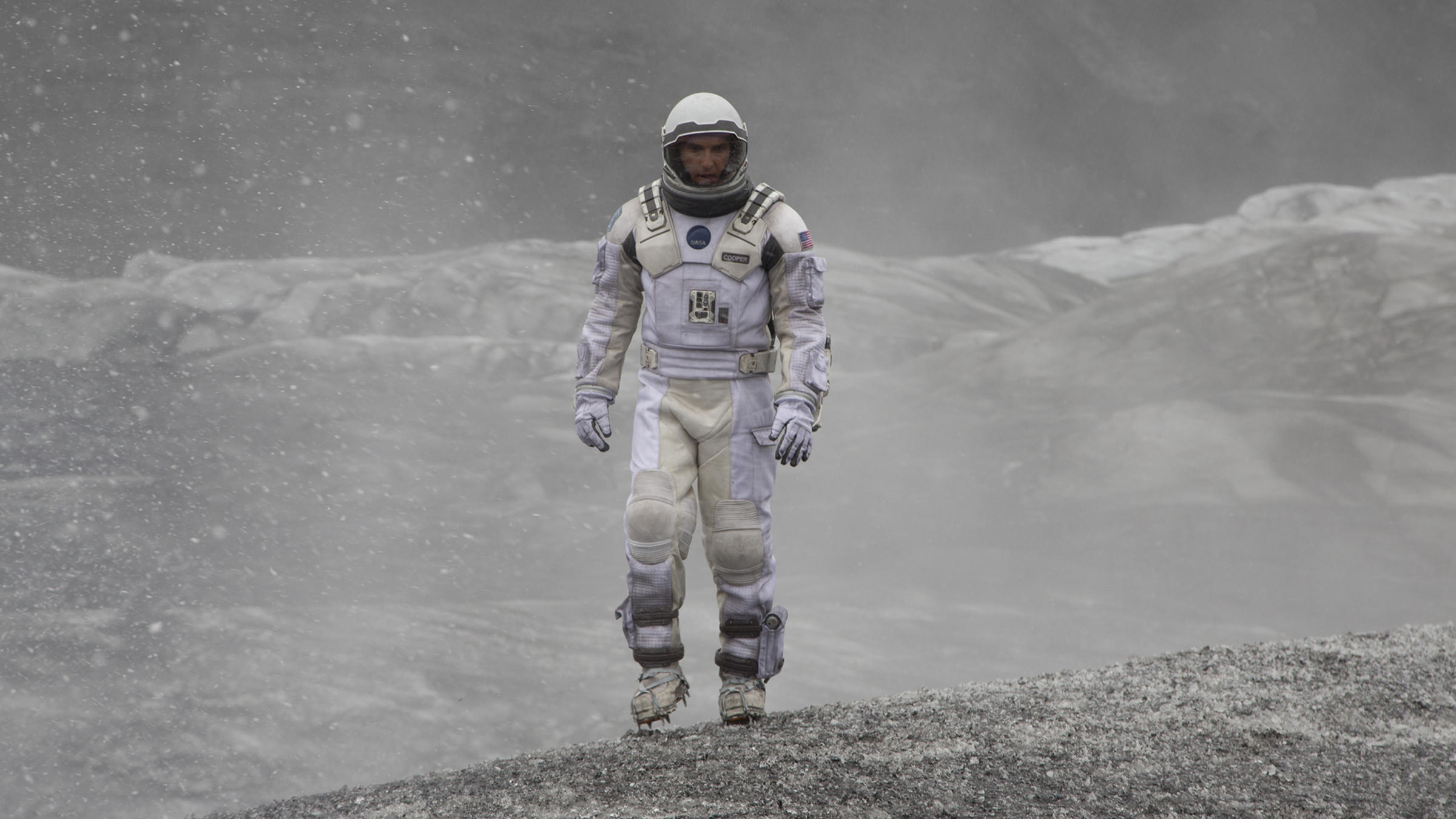 A still from the movie Interstellar