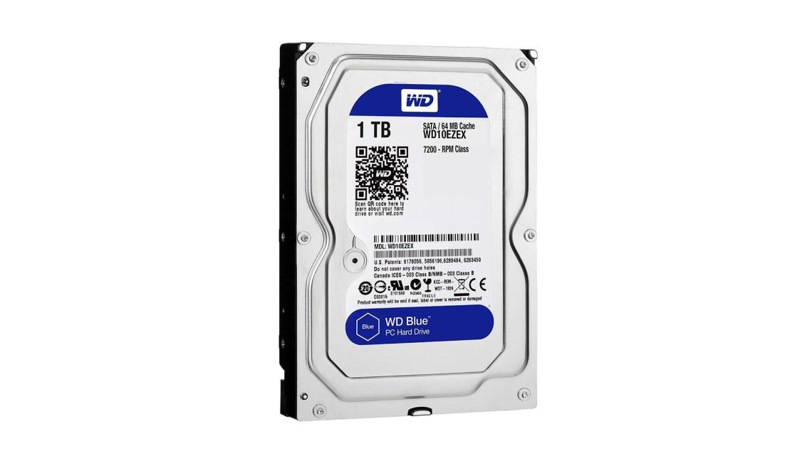 Best budget hard drive: WD Blue Desktop