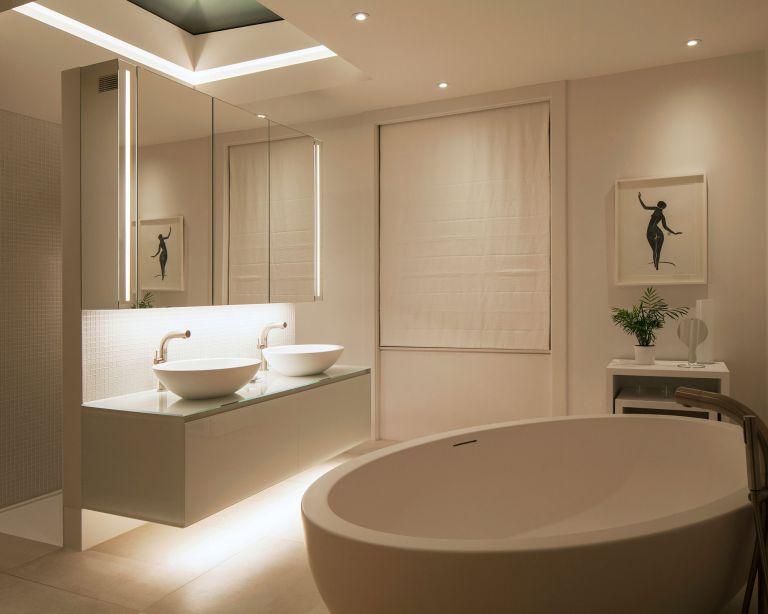 bathroom lighting trends from