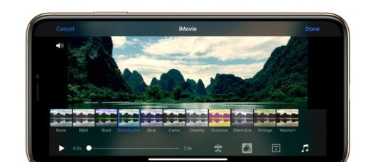 Best video editing apps: iMovie on iPhone