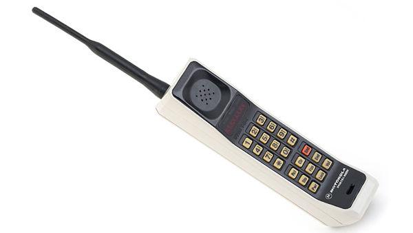 image of Motorola DynaTAC 8000x mobile phone