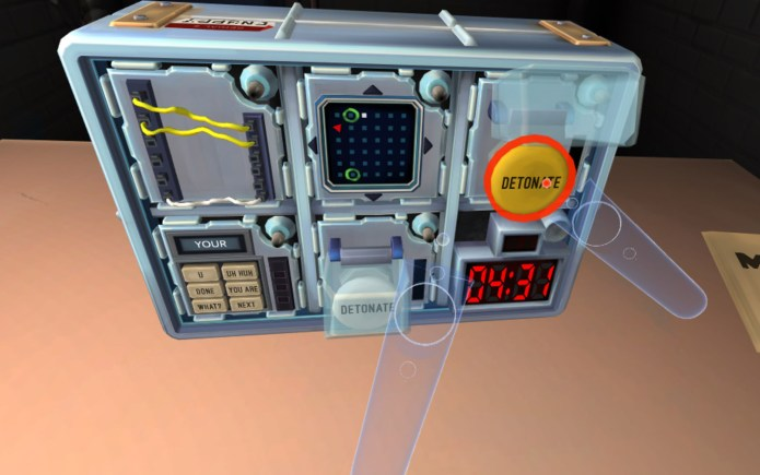best VR games: Keep Talking and Nobody Explodes