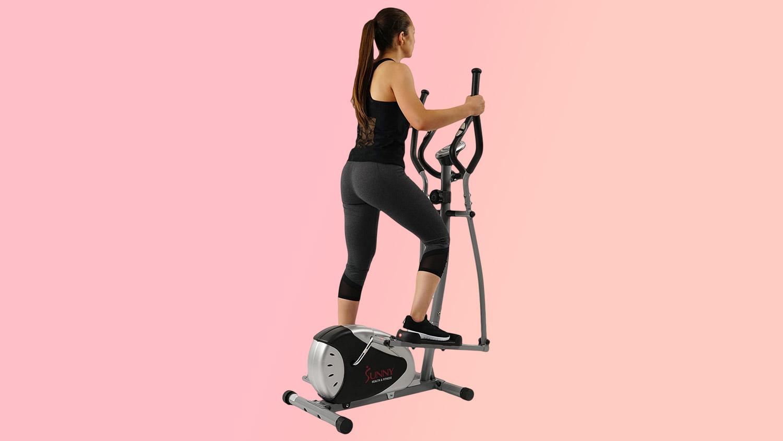 Best home gym equipment: Sunny Health & Fitness SF-E905 Elliptical Machine