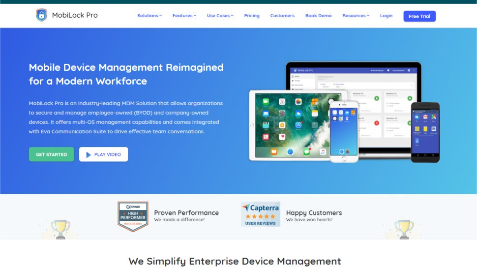 Mobilock Pro - Affordable device management for Android hardware