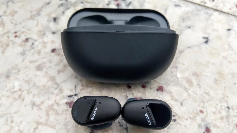 Best cheap noise cancelling headphones: Sony WF-SP800N