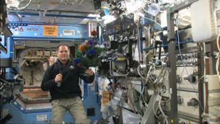 Astronauts Celebrate Christmas on Space Station Space