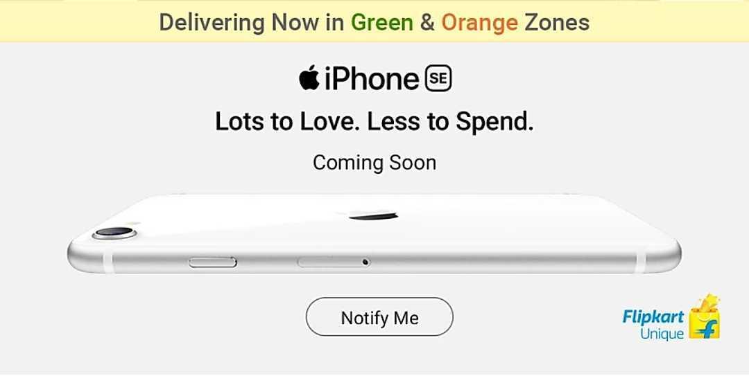 Apple iPhone SE 2020 sales may start soon