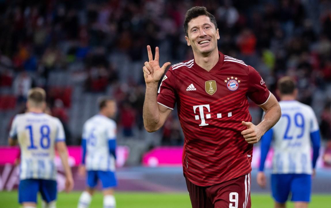 Bayern Munich striker Robert Lewandowski   Bundesliga live streams