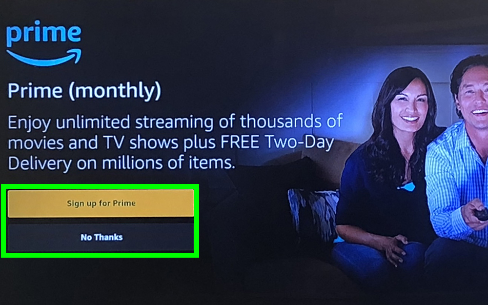 how to use fire stick - Prime?
