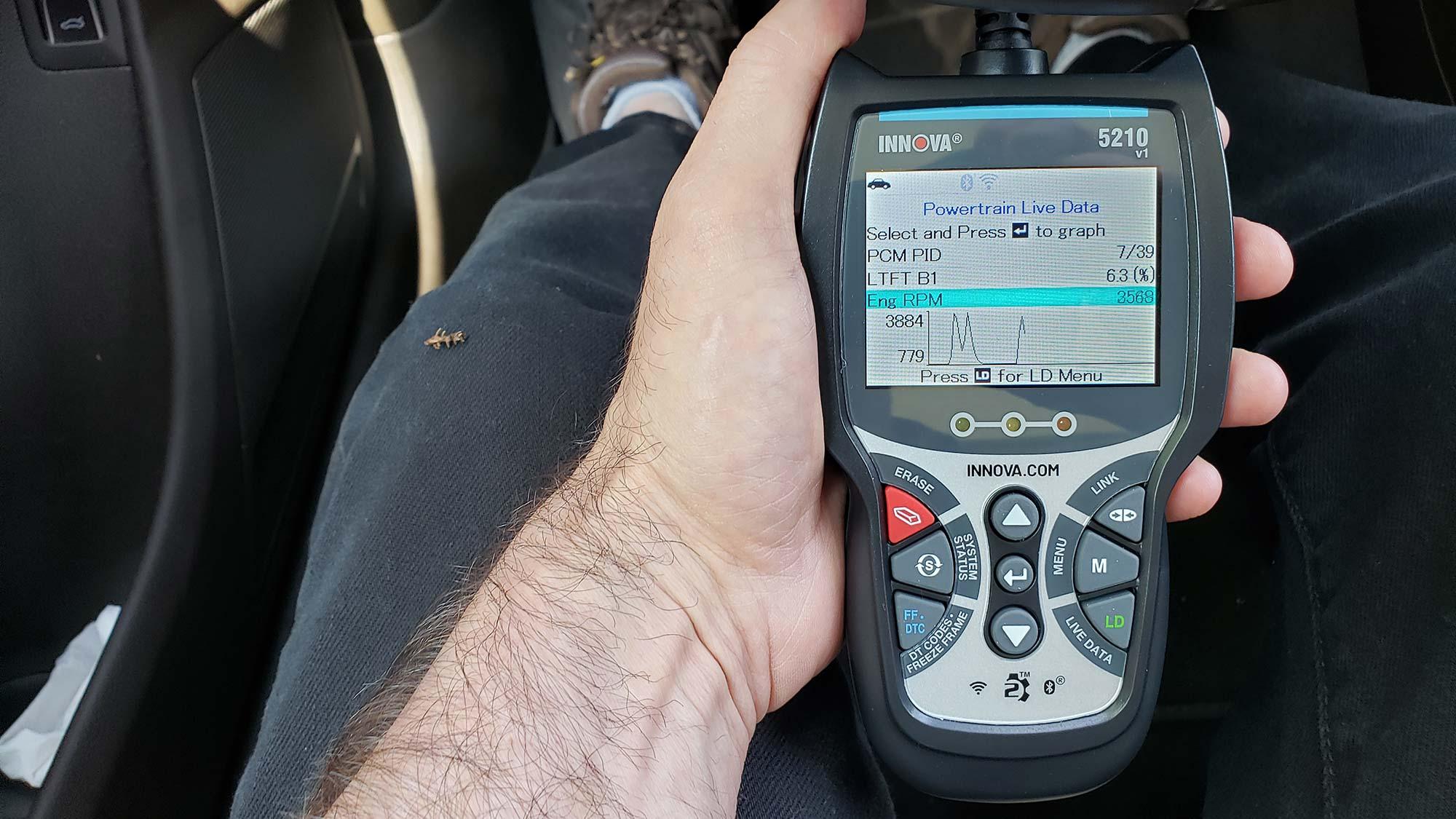 Best OBD2 scanners: Innova CarScan Pro 5210