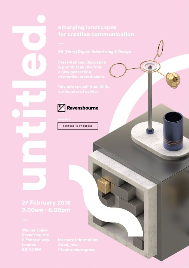 Poster for the Untitled one-day conference
